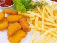 Smażone nuggets ( 8 szt )