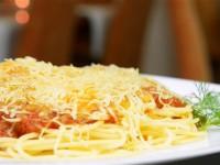 Spaghetti z serem